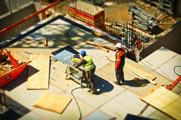 The construction sector looks to be on solid ground, given an improving economy and increasing infrastructure spending. However, higher land/labor and material costs pose a risk.