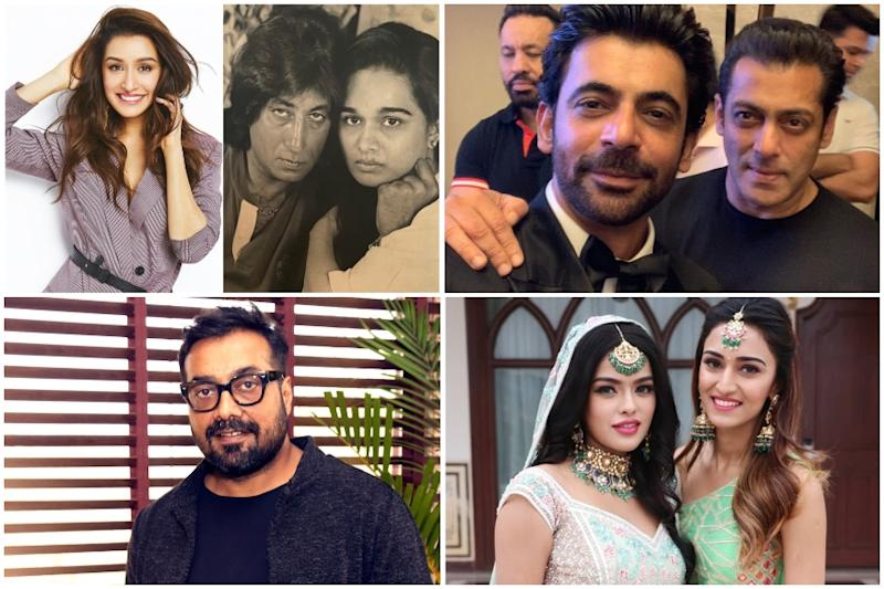 Shraddha Kapoor Shares Picture of Parents on Wedding Anniversary, Sunil Grover Returns as Gutthi on Bigg Boss
