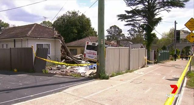 Fire and Rescue said the homes were now 'uninhabitable'. Source: 7 News