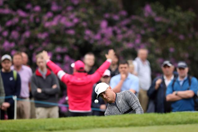 Golf - European Tour - BMW PGA Championship - Wentworth Club, Virginia Water, Britain - May 25, 2018 Sweden's Alex Noren during the second round Action Images via Reuters/Peter Cziborra