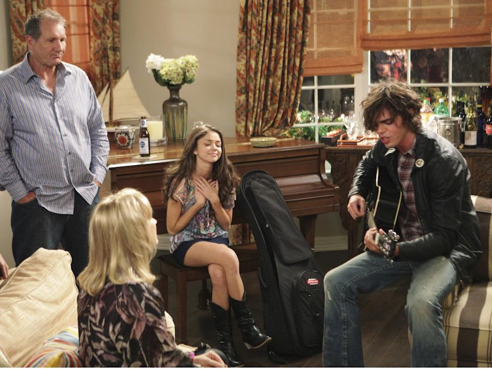 Haley's parents never approved of her teenage boyfriend, laid-back musician DylanRex Features