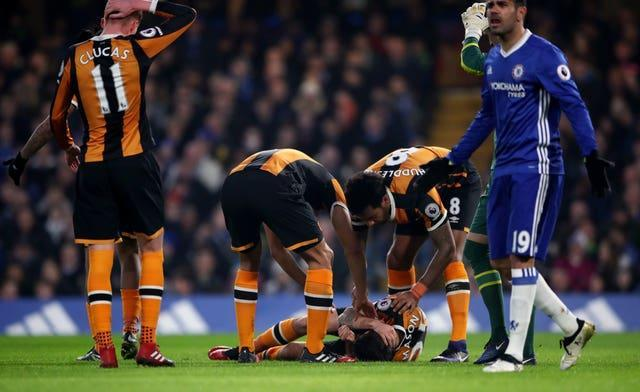 Ryan Mason was forced to retire after suffering a fractured skull while playing for Hull in 2017