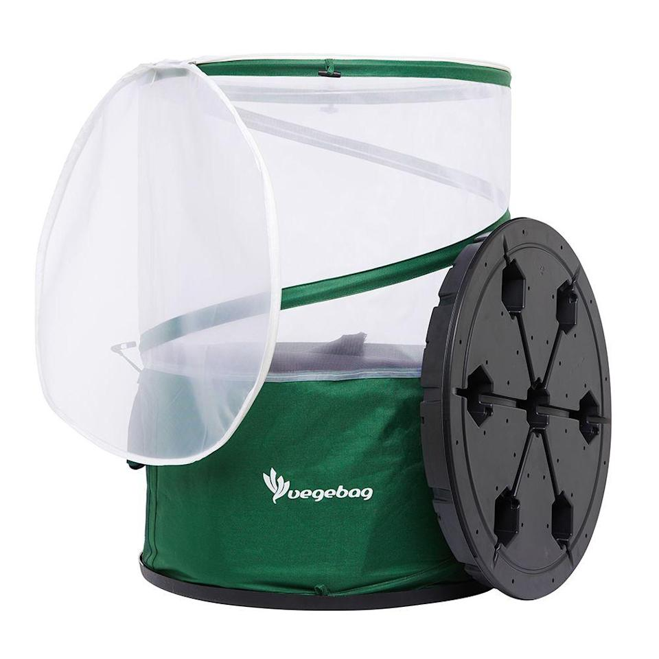 "<p>The new Vegebag by Vegepod has been improved to incorporate wicking bed and water reservoir technologies into a compact sized, fully contained grow bag.</p><p><strong><a href=""https://vegepod.co.uk/"" rel=""nofollow noopener"" target=""_blank"" data-ylk=""slk:www.vegepod.co.uk"" class=""link rapid-noclick-resp"">www.vegepod.co.uk</a> </strong></p>"