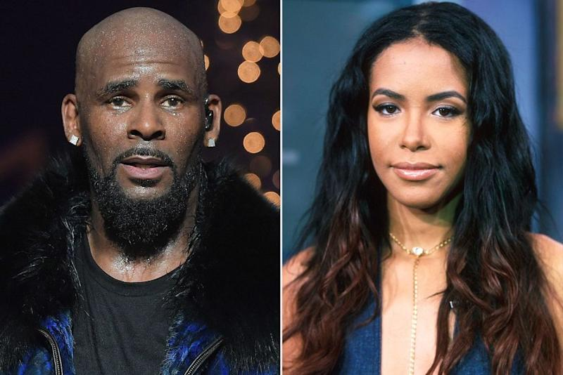 R. Kelly, Aaliyah   Prince Williams/WireImage; Dave Allocca/DMI/The LIFE Picture Collection via Getty