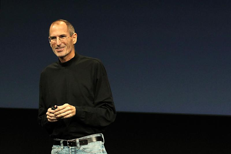 Apple CEO Steve Jobs unveils the latest improvements to the company's Mac software as it looks to increase market share gains against Microsoft Windows-based PCs during a news conference at Apple Inc. headquarters in Cupertino, California October 20, 2010. | Norbert Von der Groeben—Reuters
