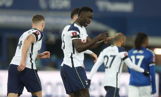 Davinson Sanchez scored twice for Tottenham but it was not enough to see them progress.