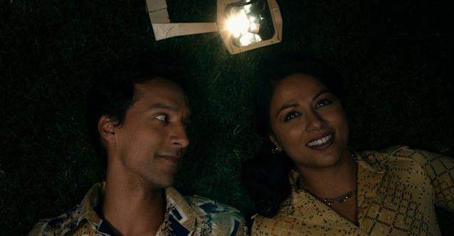 "Danny Pudi and Karen David star in ""The Tiger Hunter."" (Shout! Factory Films)"