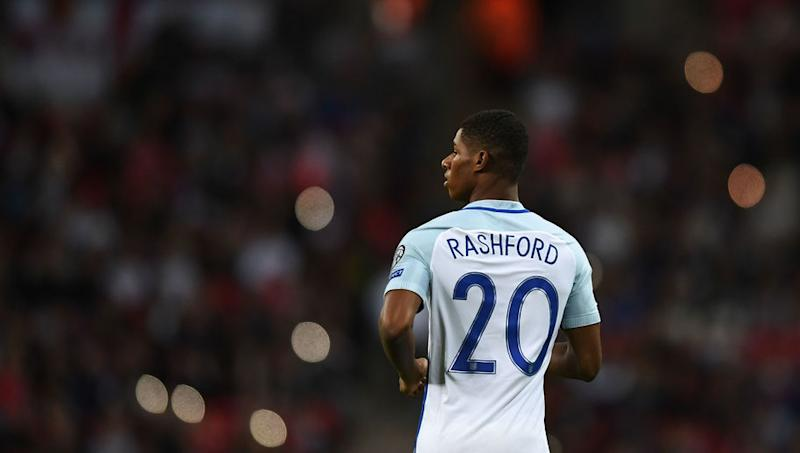 Young England Forward Marcus Rashford Discusses His First Ever Call-Up to the National Team