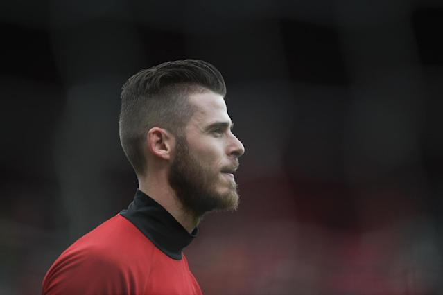 Missing out: De Gea did not feature in Manchester United's win at Sunderland: AFP/Getty Images