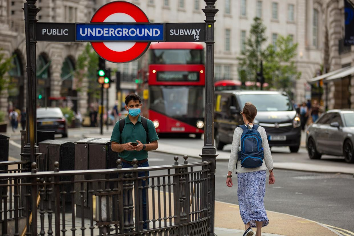 The pandemic has made it cheaper to live near a tube station. Photo: Getty Images