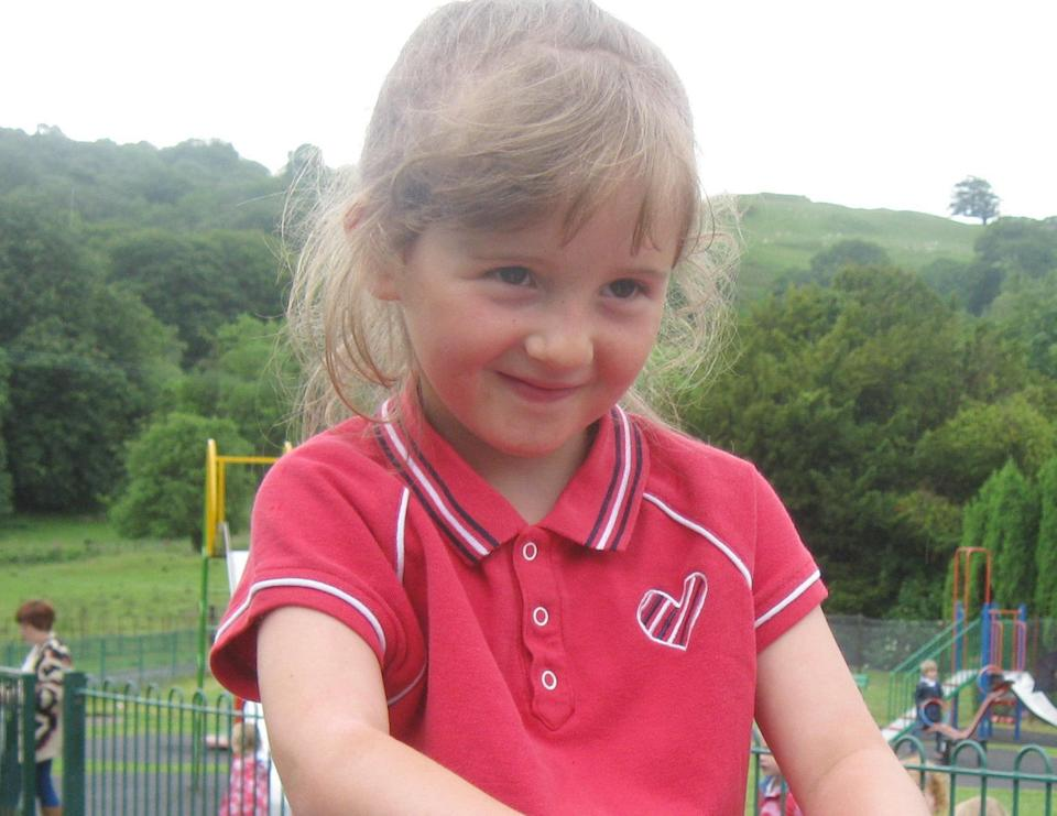 <em>Devastating – April Jones' father had to hear of her death for a second time after losing his memory, her mother has said (Pictures: PA)</em>
