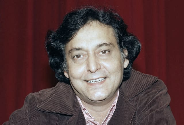 Soumitra Chatterjee, pictured in 1984