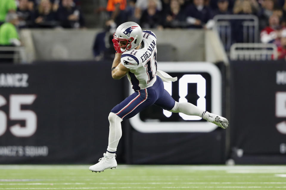 Julian Edelman and the Patriots' receivers have been uncharacteristically unreliable. (Photo by Tim Warner/Getty Images)