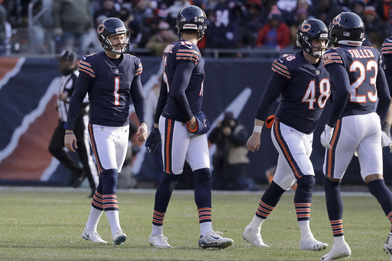 31fdff8ff5b Bears don't want Cody Parkey practice footage shown