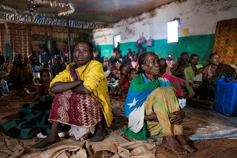 Hundreds of thousands of ethnic minority Gedeos have fled their homes following clashes with the Oromo ethnicity (AFP Photo/Maheder HAILESELASSIE TADESE)
