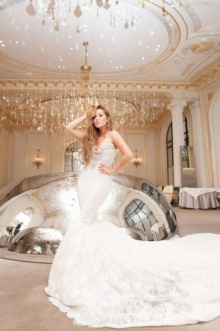 Adrienne Bailon Wowed On Her Wedding Day In A Gown Designed By Ryan Patros And Walter