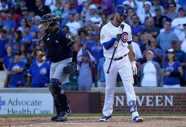 Chicago's Kris Bryant does indeed have a weakness in his game. (Getty Images)