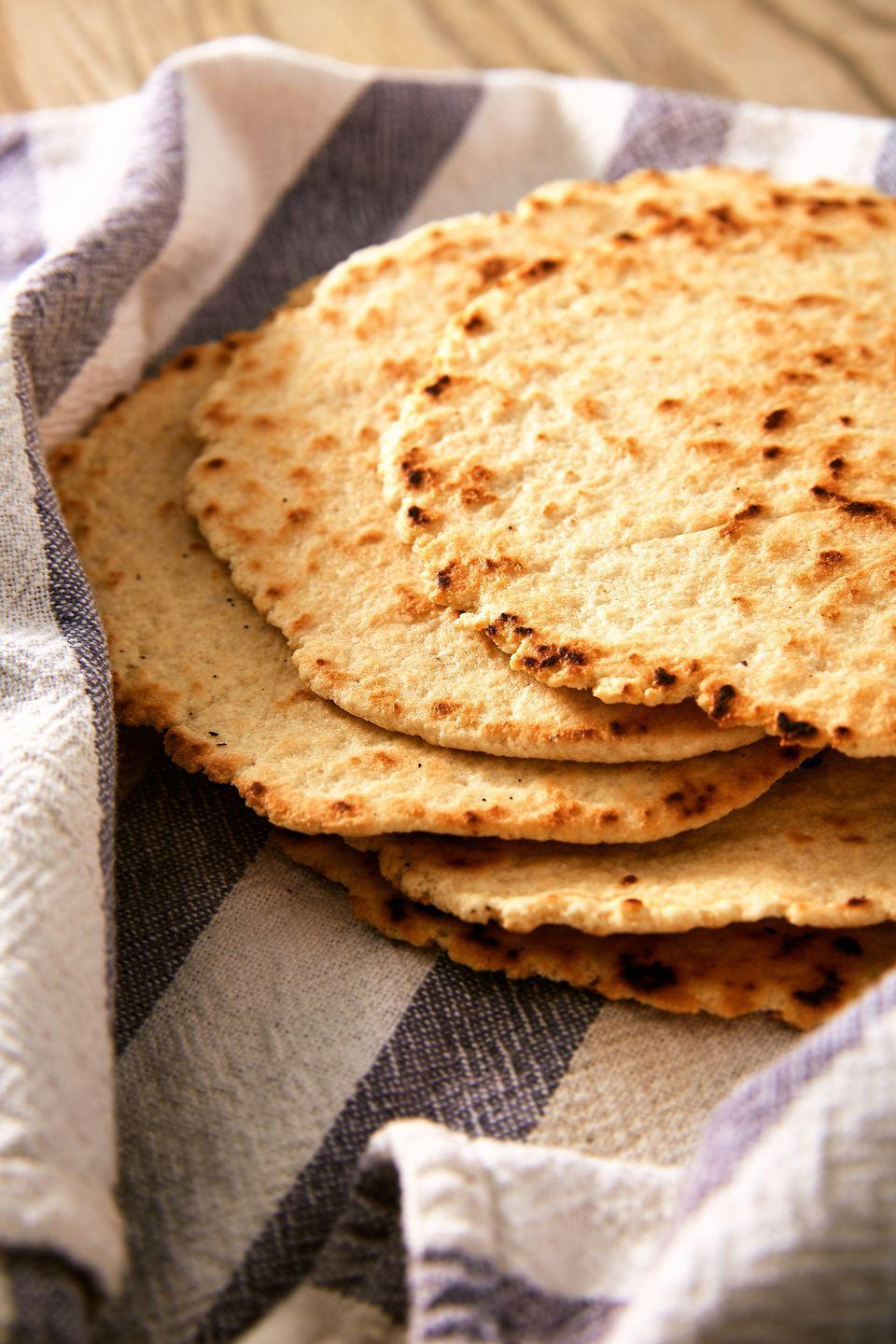"""<p>These tortillas are ready to be turned into tacos, quesadillas, enchiladas and more.</p><p>Get the recipe from <a href=""""https://www.delish.com/cooking/recipe-ideas/a25647730/keto-tortilla-recipe/"""" rel=""""nofollow noopener"""" target=""""_blank"""" data-ylk=""""slk:Delish"""" class=""""link rapid-noclick-resp"""">Delish</a>.</p>"""