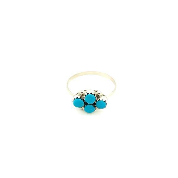 """<p><strong>Kotah Bear</strong></p><p>kotahbear.com</p><p><strong>$32.00</strong></p><p><a href=""""https://kotahbear.com/products/turquoise-dots-ring"""" rel=""""nofollow noopener"""" target=""""_blank"""" data-ylk=""""slk:Shop Now"""" class=""""link rapid-noclick-resp"""">Shop Now</a></p><p>Turquoise has an empowering influence. It will help you express yourself clearly and assertively, approach challenges with confidence, and overcome bullying. It's a protector of the misunderstood or undermined—basically, this rock is on your side.</p>"""