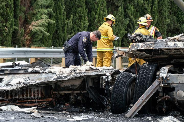Incidente sull'interstate 5 in California: 1 morto e diversi feriti