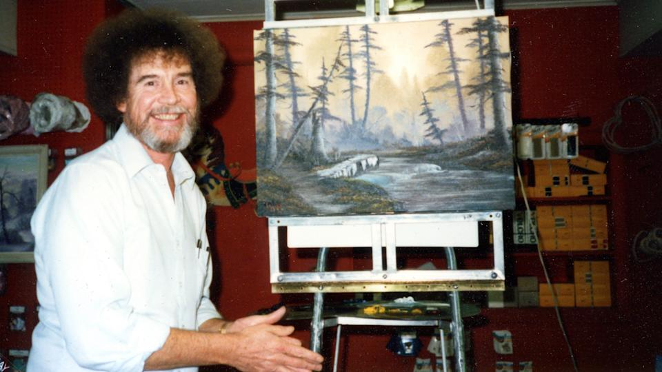 """Mega-popular art instructor Bob Ross taught generations about """"The Joy of Painting"""" but there was a darker side to his life away from the canvas as chronicled in the documentary """"Bob Ross: Happy Accidents, Betrayal & Greed."""""""