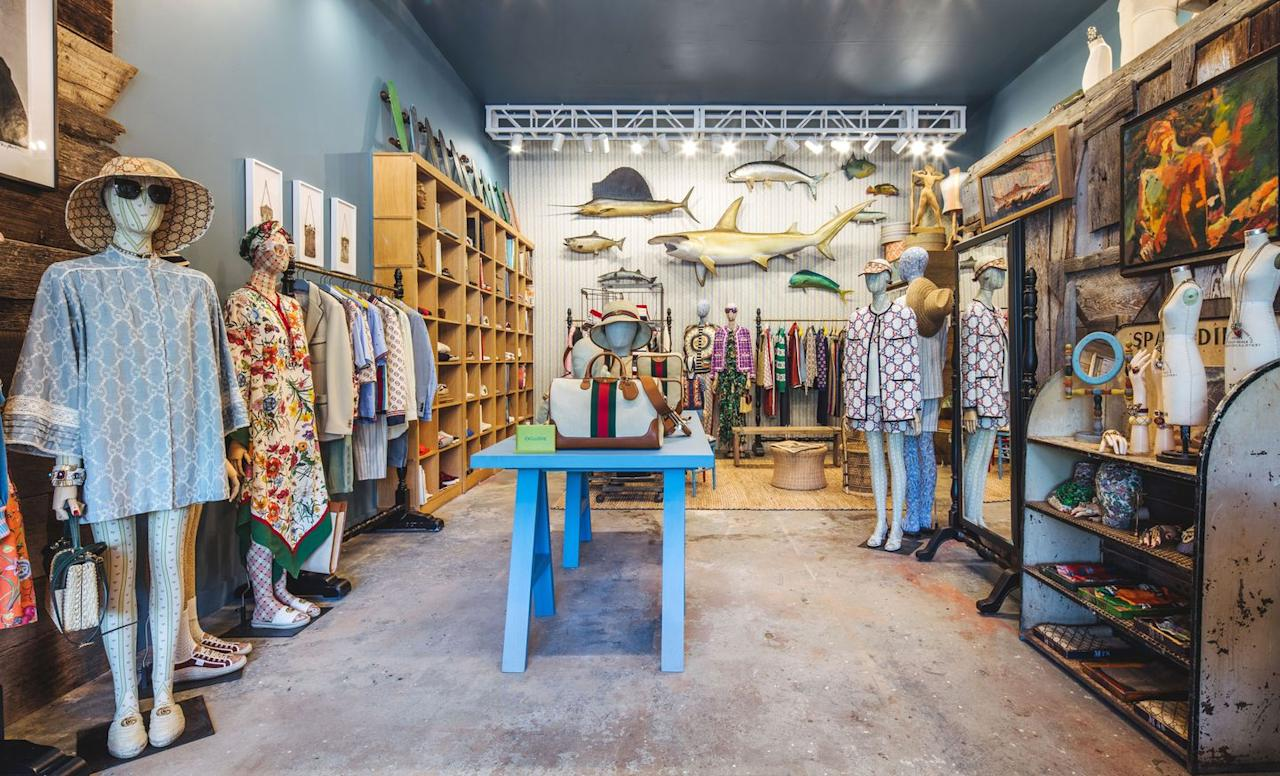 <p>Montauk's go-to vintage outpost is getting an Italian upgrade for the month of July. Now through July 28th, Gucci will take over Melet Mercantile with a highly-curated offering from their 'Toward Summer' collection—think floral caftans to take you from Ditch Plains to sunset cocktails at Duyrea's, slide sandals with strawberries, raffia bags and an array of sun hats. You can, of course, still find Bob Melet's usual treasures like vintage records and surfboards on hand. </p><p><em>Gucci x Melet Mercantile, 102 Industrial Road, Montauk</em></p>