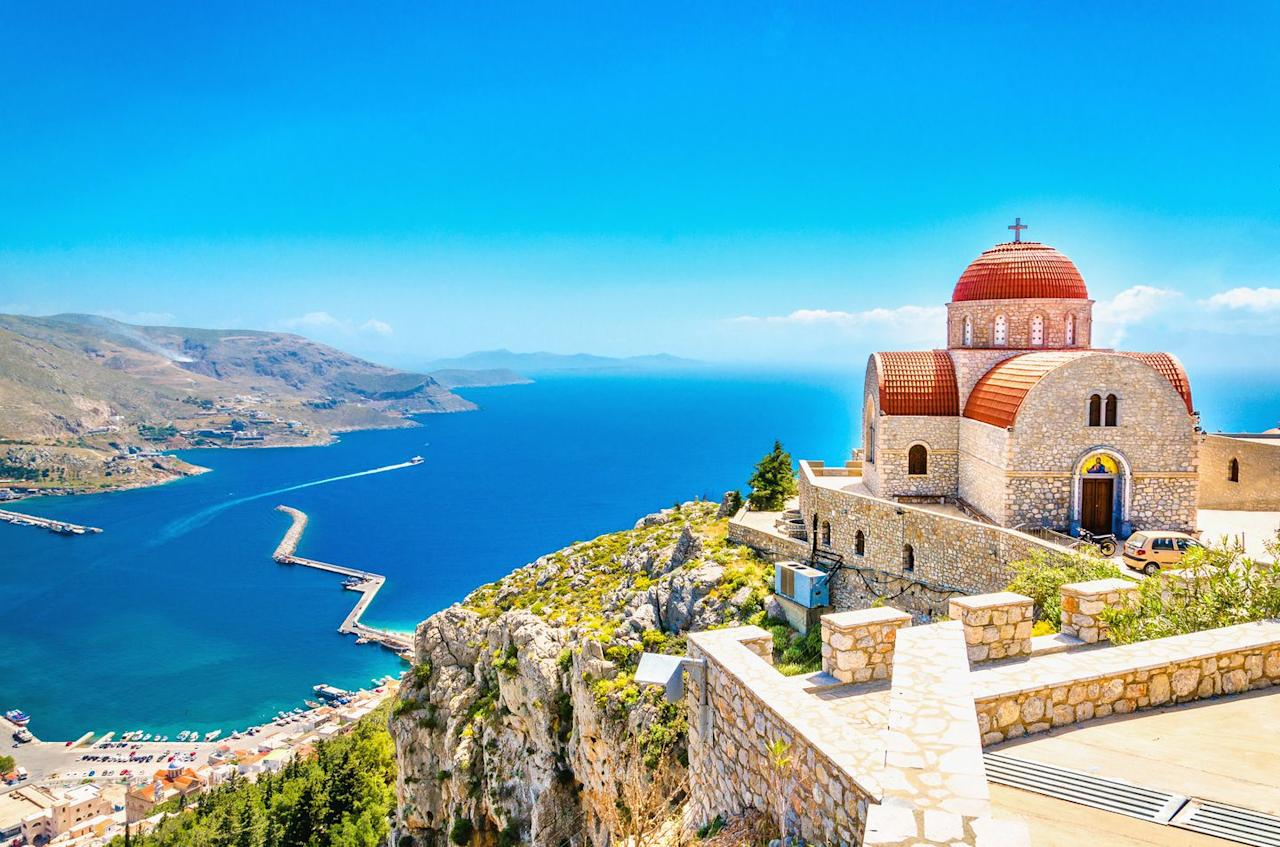 """<p>Try something a little different on the Greek island of Crete in 2019 and stay in a restored dry docked boat.</p><p><a rel=""""nofollow"""" href=""""https://www.pitchup.com/campsites/greece/crete/chania/apokoronos/olive_ranch/"""">The Olive Ranch</a> site has quirky accommodation for two on board the Wild-de-go, a fully restored 1920s ferry.</p><p>The lovingly refurbished boat has retained much of her old character such as the portholes and beams, but now also boasts a well-equipped kitchen, woodburning stove, sleeping area and, of course, a lovely deck for sunbathing.</p><p>Located near Kalyves, it's a 30-minute drive from the main city of Chania. The boat is 'moored' on a private plot at a family farm where visitors can enjoy pony rides and meet the other animals on site. </p><p>From £47 per night.</p>"""