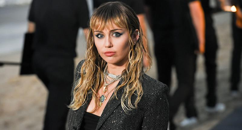Miley Cyrus was accused of implying that sexuality identity is a choice. (Photo: Getty Images)