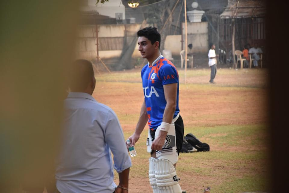 Ibrahim Ali Khan in Juhu