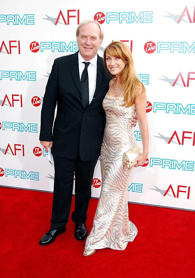 """<a href=""""http://movies.yahoo.com/movie/contributor/1800032859"""">Jane Seymour</a> and <a href=""""http://movies.yahoo.com/movie/contributor/1800038901"""">James Keach</a> at the 37th Annual AFI Lifetime Achievement Awards - 6/11/2009"""