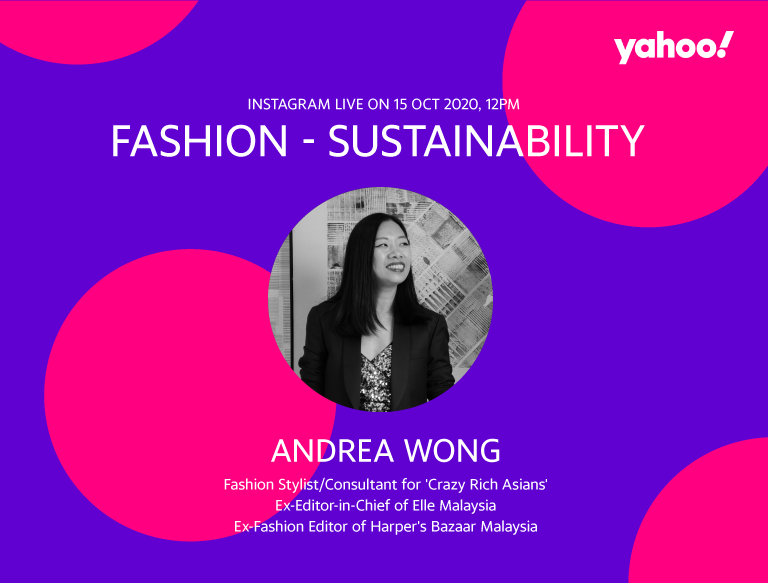 A Conversation With Andrea Wong. (PHOTO: Yahoo Lifestyle SEA)