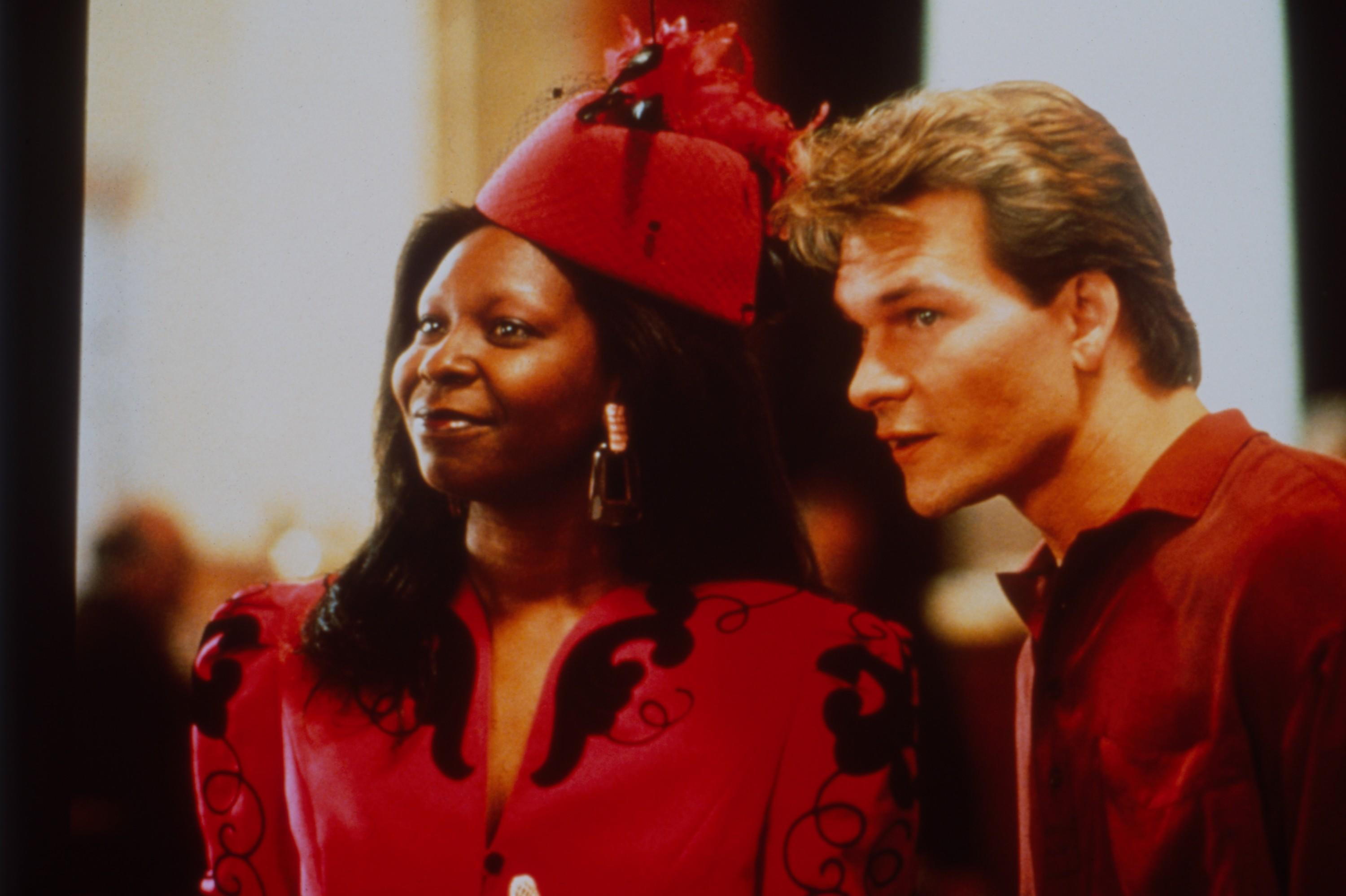 Whoopi Goldberg and Patrick Swayze in Jerry Zucker's 1990 hit, 'Ghost' (Photo: Paramount Pictures / Courtesy Everett Collection)
