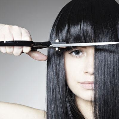 "Freshen Up Your Bangs with a ""Dusting"""