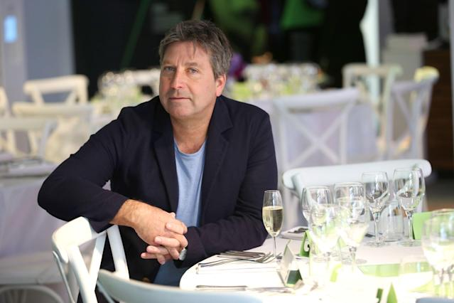 John Torode has had yet another kitchen disaster at home. (Getty Images)