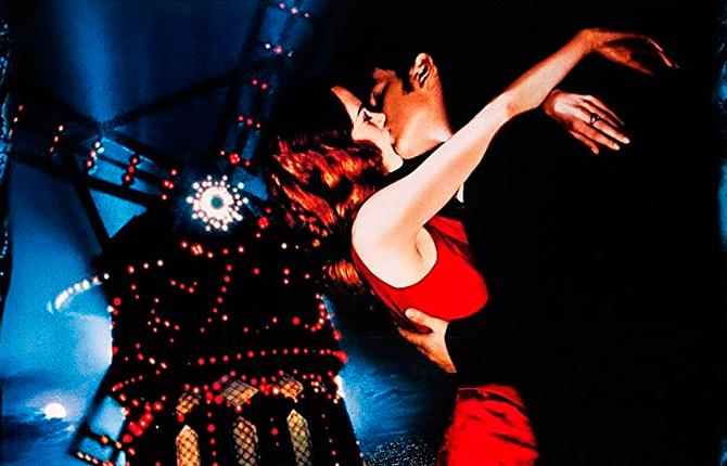 Nicole Kidman y Ewan McGregor en Moulin Rouge! (©2001 - 20th Century Fox - All Rights Reserved)