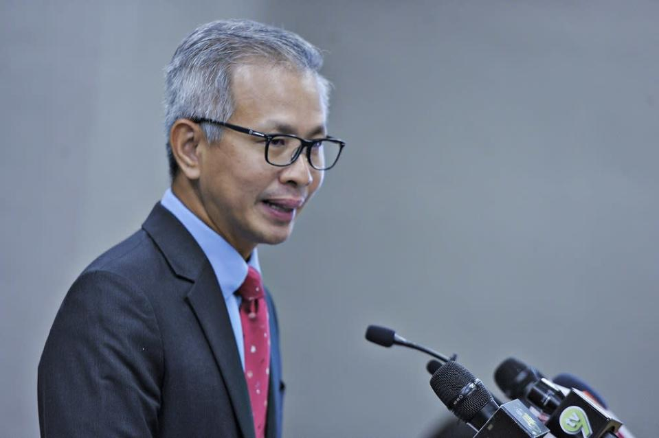 In his speech debating the 12MP, Damansara MP Tony Pua also questioned how the government is planning to realise the goals under 12MP, which he said are almost entirely similar to the three prior plans. — Picture by Shafwan Zaidon