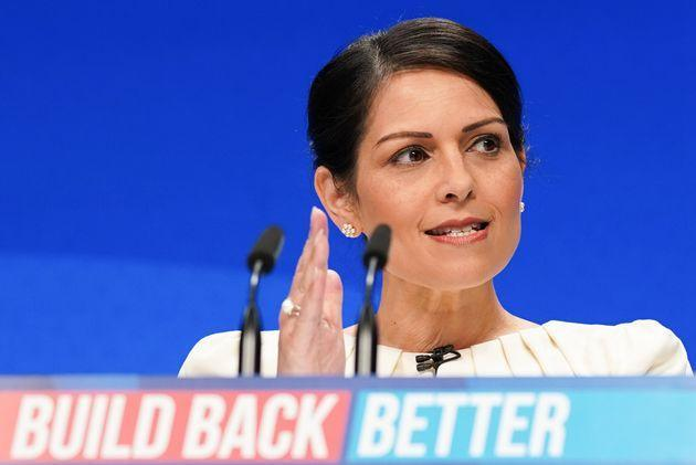 Priti Patel has backed the proposal (Photo: Ian Forsyth via Getty Images)