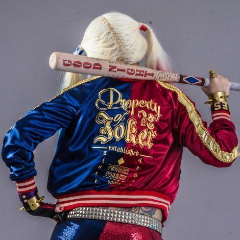 """<p><strong>, , , ,</strong></p><p>leatherjacketmakers.com</p><p><strong>$69.99</strong></p><p><a href=""""https://www.leatherjacketmakers.com/product/harley-quinn-jacket-bomber-cosplay-costume/"""" rel=""""nofollow noopener"""" target=""""_blank"""" data-ylk=""""slk:Shop Now"""" class=""""link rapid-noclick-resp"""">Shop Now</a></p><p>Let's be honest: Halloween can get pretty chilly. To ensure you're still on theme when you're outdoors, consider this long-sleeve Harley Quinn jacket if cooler temps are in the forecast.</p>"""