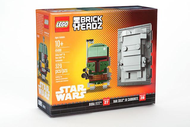 Lego <i>Star Wars</i> Boba Fett and Han Solo Lego <i>Star Wars</i> for New York Comic-Con (Photo: Lego)