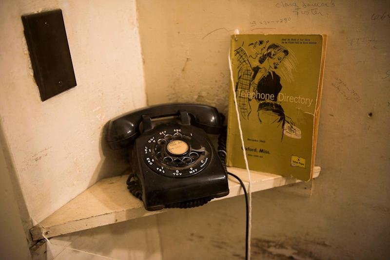 The phone William Faulkner received word on that he had wonthe Nobel Prize.