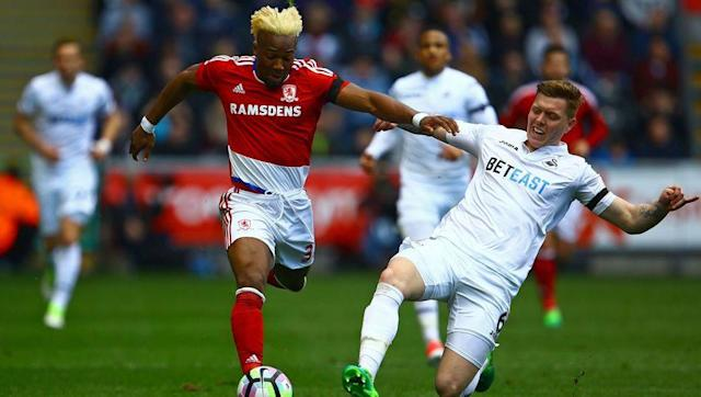 <p><strong>Number of take-ons this season: 138</strong></p> <br><p>Another Premier League winger, Adama Traore is trying to avoid relegation for the second season in a row, after failing in the task last season with Aston Villa. Now at Middlesbrough, the former Barcelona youth product is relentless in his movement with the ball, taking every opportunity possible to take on a defender.</p> <br><p>Still just 21 years of age, what Traore may lack in a final product he most certainly makes up for in a sheer commitment to making something happen with the ball. Whether Boro manage to retain their top flight status or not, they will find it difficult to hold onto the former Spanish under 19 international. </p>