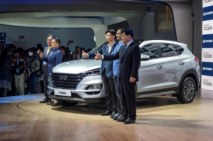 South Korea's largest automaker Hyundai Motor on Tuesday said it will suspend all domestic production because of a lack of parts due to the coronavirus outbreak (AFP Photo/Money SHARMA)