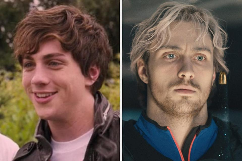 Both played by: Aaron Taylor-Johnson