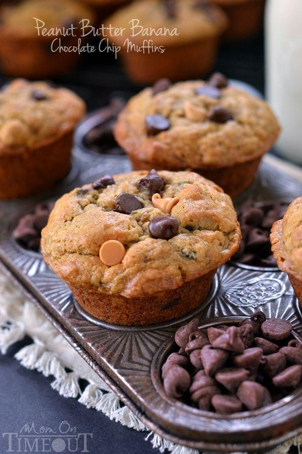 "<p>Basically, an excuse to eat chocolate and peanut butter chips.</p><p>Get the recipe from <a href=""http://www.momontimeout.com/2014/10/peanut-butter-banana-chocolate-chip-muffins-recipe/"" rel=""nofollow noopener"" target=""_blank"" data-ylk=""slk:Mom on Time Out"" class=""link rapid-noclick-resp"">Mom on Time Out</a>.</p>"