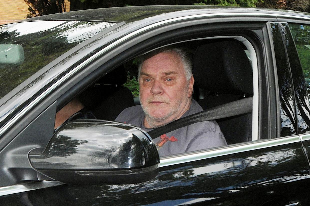 Freddie Starr outside his home in Warwickshire after the CPS confirmed that he will not be charged as part of Operation Yewtree due to insufficient evidence (PA Images)