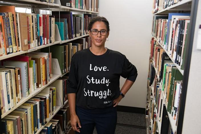 """UCLA Professor Kelly Lytle Hernández and other UCLA scholars have received a $3.65 million grant from the Andrew W. Mellon Foundation to use a trove of LAPD records and community input to create a new archive on the """"Age of Incarceration"""" in Los Angeles."""