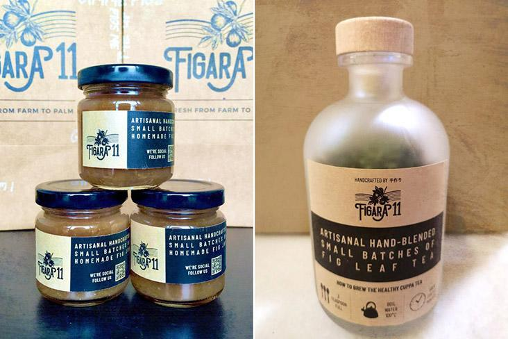 Figara11 also produces fig-based products such as fig jam and fig leaf tea.