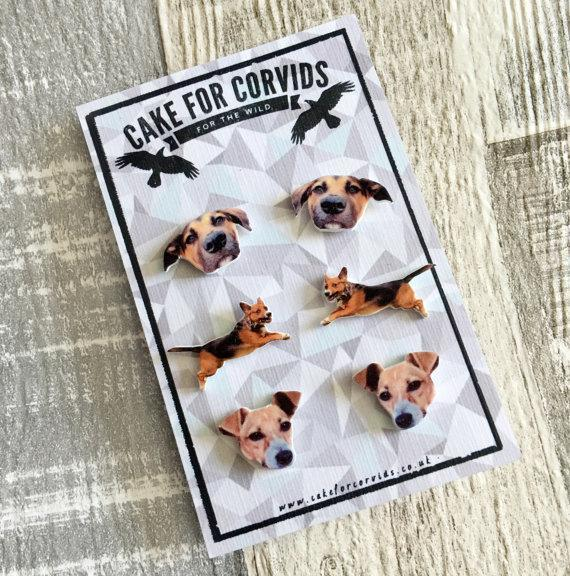 """<p>Okay these are for you but your pet will definitely feel dead chuffed you love them enough to immortalise them in the form of jewellery.</p><p>£8.50 <a href=""""https://www.etsy.com/uk/listing/386068956/custom-pet-earrings-dogs-cats-rabbits?ga_order=most_relevant&ga_search_type=all&ga_view_type=gallery&ga_search_query=pet&ref=sr_gallery_24"""" rel=""""nofollow noopener"""" target=""""_blank"""" data-ylk=""""slk:Cake For Corvids"""" class=""""link rapid-noclick-resp"""">Cake For Corvids</a></p>"""