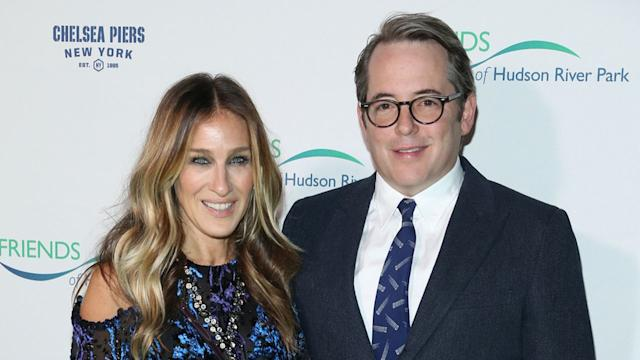 Sarah Jessica Parker Dons Dreamy Gown For Date Night With