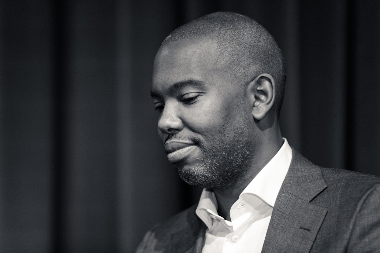 "Ta-Nehisi Coates, who wrote the much-discussed essay ""The First White President"" in October.  (Photo: NurPhoto via Getty Images)"